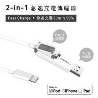 GDMALL 蘋果傳輸快充線 -1.2米 MFi TYPE-C對 Lightning快充傳輸線 x  專利USB接頭