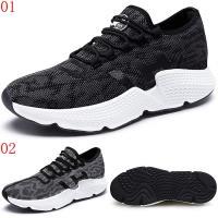 GOG高哥飛織系帶休閒鞋兩色可選511872黑/511873灰增高6CM口JHS杰恆社1907(預購)