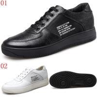 GOG高哥休閒系帶板鞋兩色可選411845黑/411846白增高6CM口JHS杰恆社1907(預購)