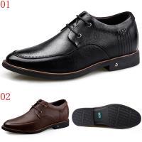 GOG高哥雞心荔紋軟面系帶正裝皮鞋兩色可選911832黑/911833棕6.5CM口JHS杰恆社1907(預購)