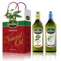 Olitalia奧利塔-玄橄綜合油品禮盒(橄欖油+玄米油);各1000ml
