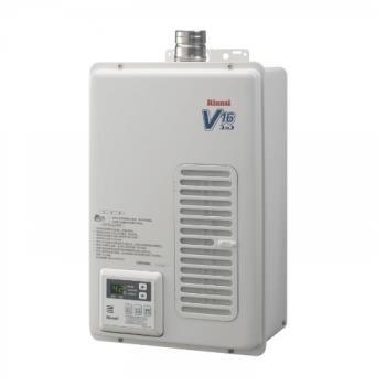 (全省安裝)林內熱水器16公升屋內強制排氣/REU-V1611WFA-TR