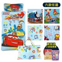 BabyTiger虎兒寶  MIT台灣製卡通圖樣幼教兒童睡袋組 -  (兩款)