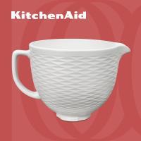 【KitchenAid】5Q陶瓷攪拌盆: 白巧克力 5KSM2CB5TLW