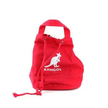 KANGOL 側背包 束口包 紅色 692530074 noA03