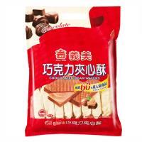義美夾心酥 巧克力風味量販包 2片 16包入