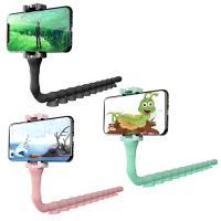 正品Cute Worm 手機支架 360度自由旋轉 適用6.5吋以下手機 吸盤吸附光滑平面 展示架 置放架 固定架