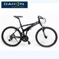 DAHON大行 Espresso D24 26吋24速鋁合金前避震折疊單車-黑色