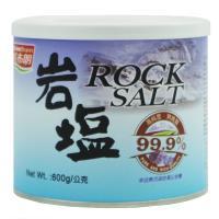《紅布朗》岩鹽 600g 罐