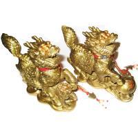 [開運陶源] 貔貅麒麟 (大)銅雕一對 開光純銅