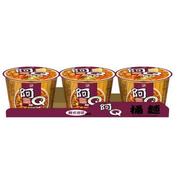 阿Q桶麵 韓式泡菜風味桶3入/組