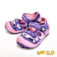 G.P 快樂護趾童涼鞋 童鞋-紫(另有橘、藍綠)