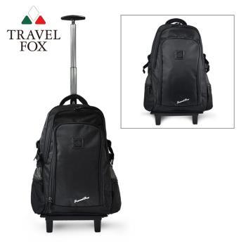 TRAVEL FOX 旅狐 旅行系列經典輕量多功能拉桿包/後背包(TB616-01) 黑色