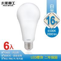 太星電工 16W超節能LED燈泡(6入) 白光/暖白光