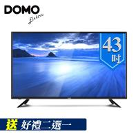 DOMO 43型HD低藍光多媒體數位液晶顯示器(DOM-43AT02)-送HDMI影音傳輸線