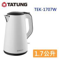 TATUNG大同 1.7公升電茶壺-白色 TEK-1707W-庫
