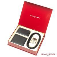 【CUMAR】三件式皮件禮盒-皮夾+名片夾+皮帶-10