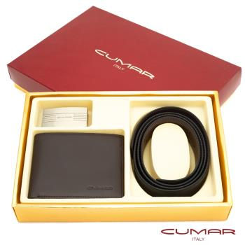 【CUMAR】二件式皮件禮盒-皮夾+皮帶-12