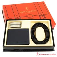 【ROBERTA 諾貝達】二件式皮件禮盒-皮夾+皮帶-7
