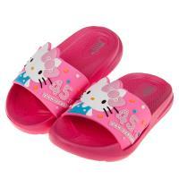 《布布童鞋》HelloKitty凱蒂貓45周年桃色兒童超輕量拖鞋(15~22公分) [ C9F265H ]