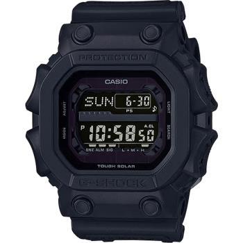 CASIO G-SHOCK 黑金鋼太陽能數位手錶-全黑(GX-56BB-1D)