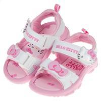 《布布童鞋》HelloKitty凱蒂貓可愛蝴蝶結白色兒童涼鞋(13~18公分) [ C9K215M ]