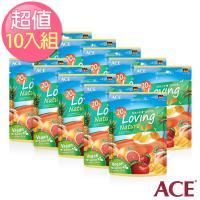 【ACE】比利時進口  熱帶水果植物軟糖10入組 (36g/包)