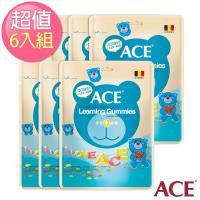 【ACE】比利時進口 字母Q軟糖 量販包6入組(240g/袋)