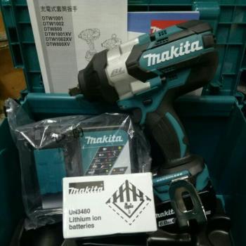 MAKITA牧田 DTW1002RGJ 18V充電式衝擊套筒板手