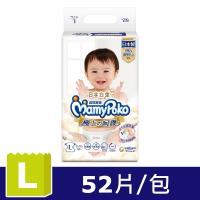 滿意寶寶 日本白金 極上の呵護 紙尿褲/尿布 (52片x 4包)-L