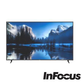 鴻海 Infocus 80吋 4K智慧連網液晶顯示器/電視-含視訊盒 WT-80CA600 送基本安裝配送