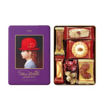 紅帽子 紫帽餅乾禮盒(100公克/盒) x10盒