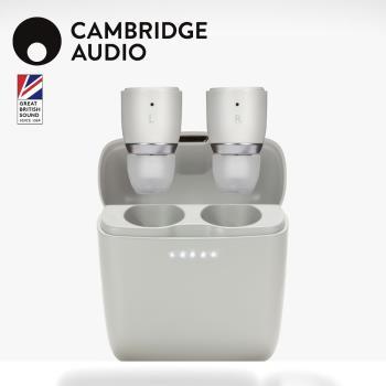 英國 CAMBRIDGE True Wireless真無線防水藍牙耳機 MELOMANIA狂樂者 1【石灰白】