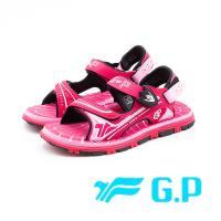 G.P 經典款VI-兒童舒適涼拖鞋 童鞋 - 桃(另有藍)