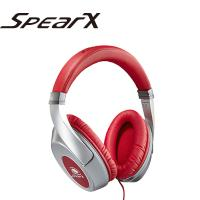 SpearX D1音樂耳機-亮紅銀