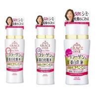 日本KOSE GRACE ONE逆齡深層美白組(美白保濕乳液130ML+美白保濕化妝水180ML+美白潤澤化妝水180ML)