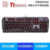 【Tt eSPORTS曜越】挑戰者EDGE 電競鍵盤