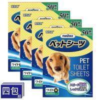 PamDogs 幫狗適 - 日本幫狗適 強力吸水尿布墊 M尺寸45X60cm 四包優惠組(寵物尿布墊)