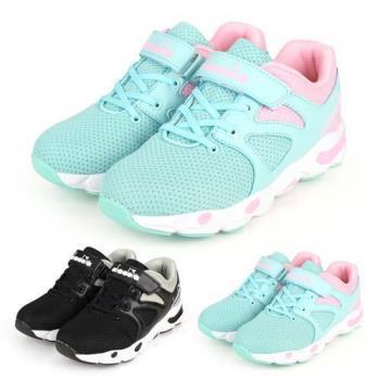 DIADORA 男女童歐風運動鞋-3E-路跑 慢跑 寬楦