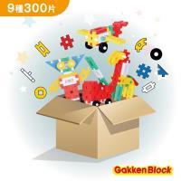 學研Gakken-學研益智積木-限量超值組合(300片)-STEAM教育玩具
