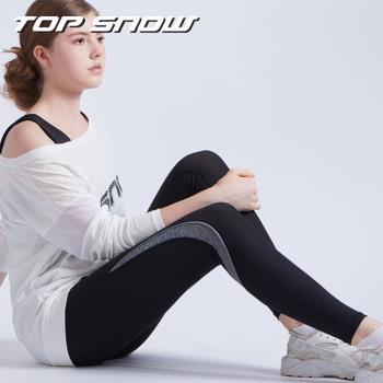 美國TOP SNOW向上支撐護膝體適能壓力褲1入組