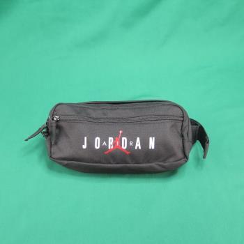 JORDAN AIR JORDAN CROSSBOY 斜背包 單肩包 側背包 腰包 9A0201023 黑【iSport愛運動】