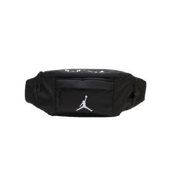 JORDAN WAIST BAG 腰包 單肩包 側背包 9A0092023 黑【iSport愛運動】