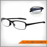 Lavender智慧變焦折疊式老花眼鏡-霧黑(附贈收納盒拭鏡布)