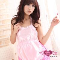 天使霓裳 粉紅蜜桃 性感裸背女僕裝角色服(粉) GA8071