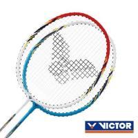 VICTOR 速度-穿線拍-對拍組-勝利 羽球拍 2支入 附羽球