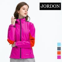 (JORDON) 女款 防風軟殼衣(702) 桃紅_網