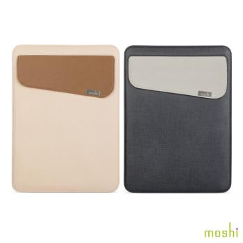 Moshi Muse 12 輕薄防傾倒皮革內袋(12吋筆電)