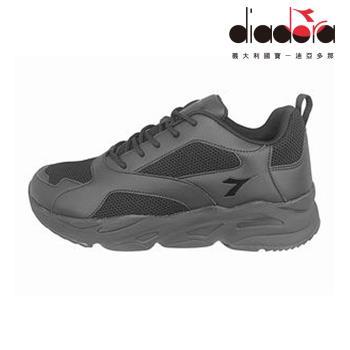 Diadora 女復古老爹鞋 黑 DA9AWC7390
