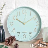 TROMSO-紐約時代玫瑰金靜音時鐘_時代藍綠金